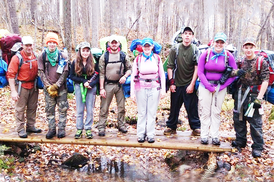 2014 Oct 7 to 14: Youth Wilderness Adventure